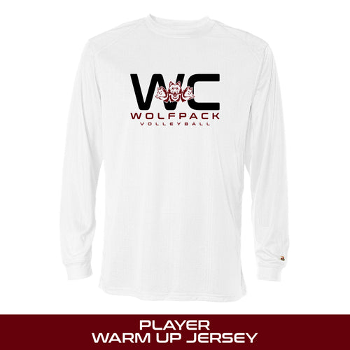 Badger B-Core Long Sleeve | Tri-County Volleyball AAU