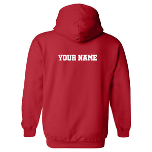 Hockey Words Stacked GILDAN HOODED SWEATSHIRT +more color options