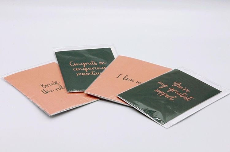 Greeting cards for clever friends