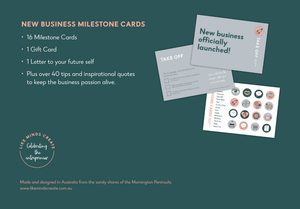Milestone Kit for the new business owner, the dreamer, the creator