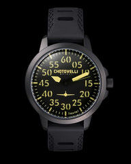 Mens Aviator watch /  Jts 3300-2