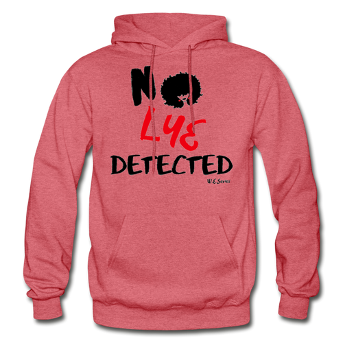 NO LYE PULLOVER - heather red