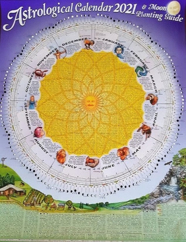 2021 Astrological Calendar and Moon Planting Guide