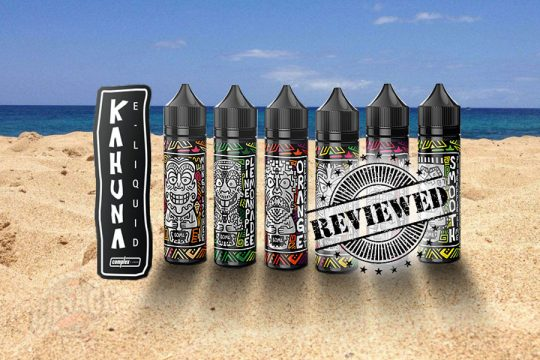 Vaper's Garage Review: KAHUNA