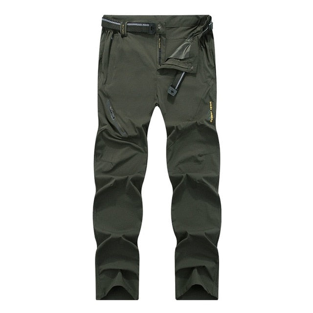 Mountainskin 8XL Men's Summer Quick Dry Softshell Pants Outdoor Elastic Camping Hiking Trekking Fishing Climbing Trousers MA138