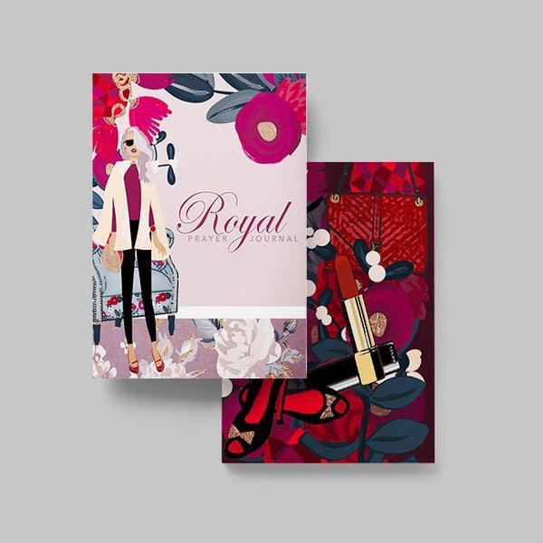 The Maroon Royal Prayer Journal