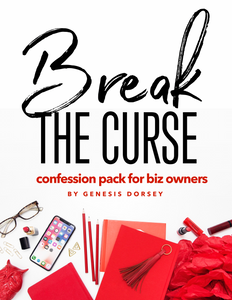 Break the Curse Confession Pack