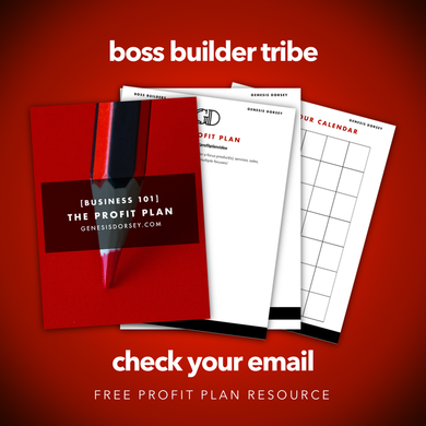 Profit Plan Resource
