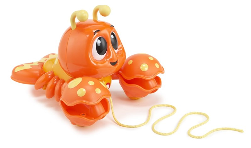 Little Tikes Pull n' Chatter Lobster
