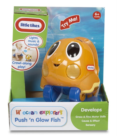 Little Tikes Push n' Glow Fish Asst