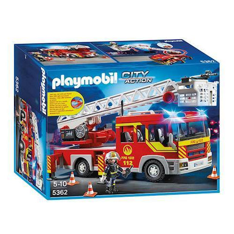 Playmobil City Action 5362 - Brandbil med stige, blink og lyd