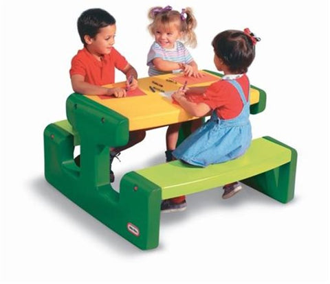 Little Tikes Large Picnic Table Grøn