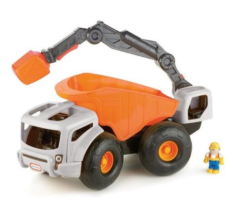 Little Tikes Monster Dirt Digger Orange