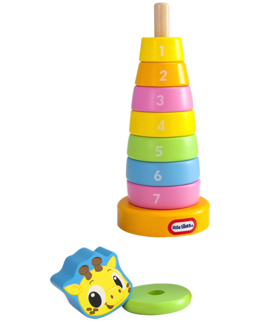 Little Tikes Wooden Giraffe Stacker