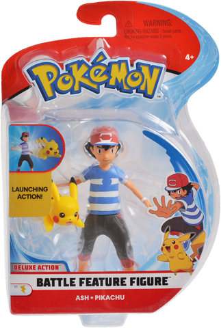 Pokemon Feature Figure ASH + Pikachu 11cm