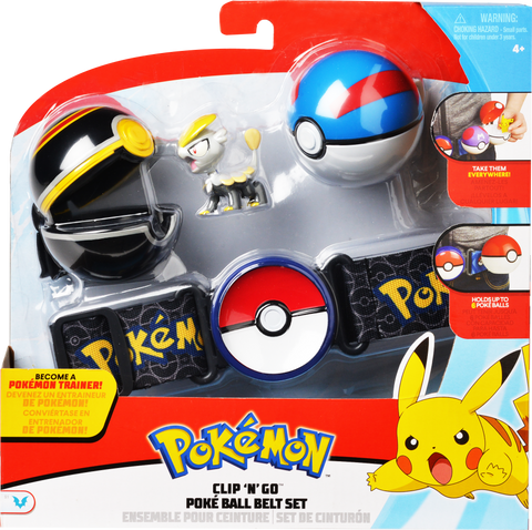 Pokemon Clip 'N Go Belt Set Sort