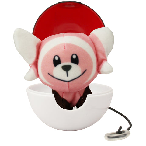 Pokemon Pop Action Stufful + Poke Ball 8cm