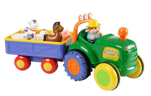 Happy baby Farm traktor med trailer