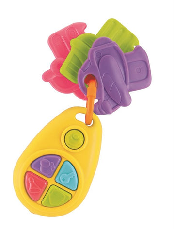 Happy Baby Musical Teething Keys B/O