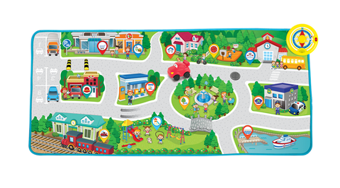 Happy Baby Drive 'n learn playmat
