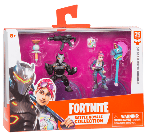 Fortnite Duo Pack Omega Brite Bomber