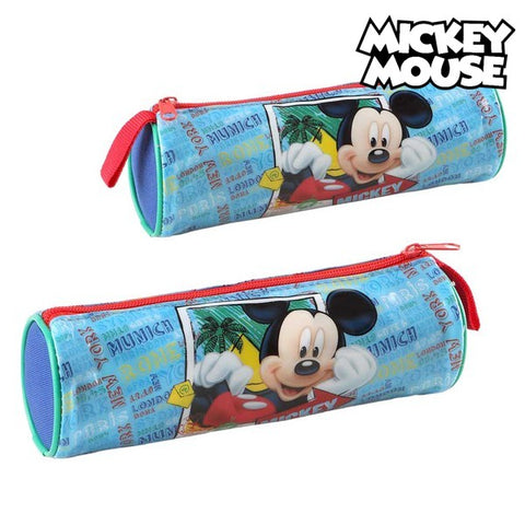 Cylinder Penalhus Mickey Mouse 32350 Blå
