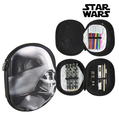 Tredobbelt Penalhus Star Wars 8423 Sort