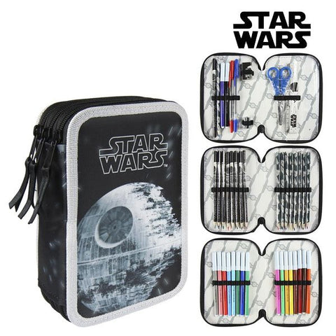 Tredobbelt Penalhus Star Wars 8515 Sort