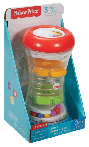 Fisher Price 3-in-1 Crawl Along Tumble Tower