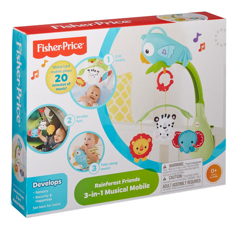 Fisher Price Musical Mobile 3 in 1