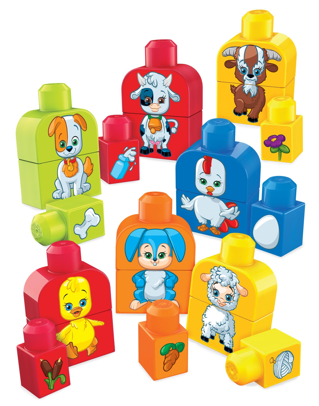 Mega Bloks Build & Match Animals