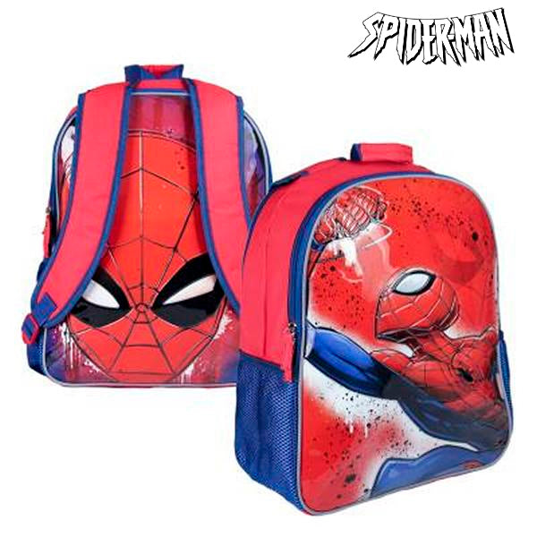 Vendbar Skoletaske Spiderman 019