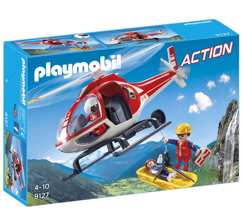 Playmobil City Action Bjergredningshelikopter 9127