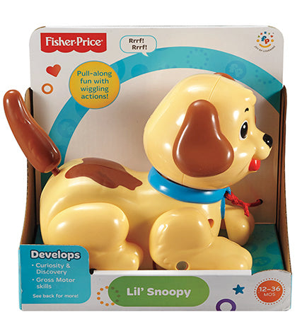 Fisher Price Brilliant Basics Lil' Snoopy