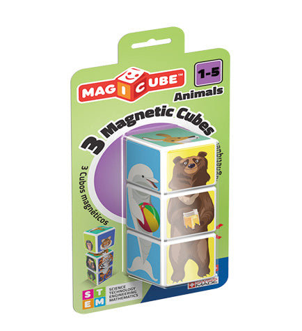 Geomag Magicube People Animals