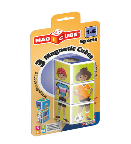Geomag Magicube People Sports