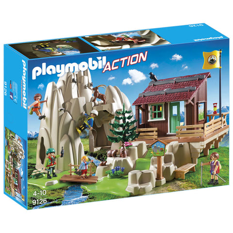 Playmobil City Action Bjergklatrere med kabine 9126