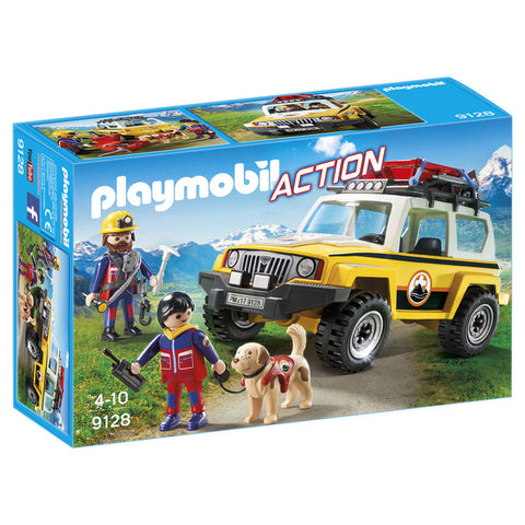 Playmobil City Action Bjergredningstruck 9128