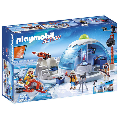 Playmobil City Action Polarforskernes hovedkvarter 9055