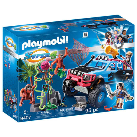 Playmobil Super 4 Monstertruck med Alex og Rock