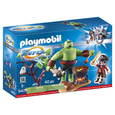 Playmobil Super 4 Kæmpetrold med Ruby 9409