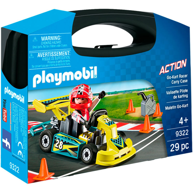 Playmobil City Action Go-Kart Racer bæretaske 9322