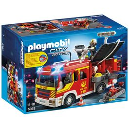 Playmobil City Action 5363 Brandbil med blink og lyd