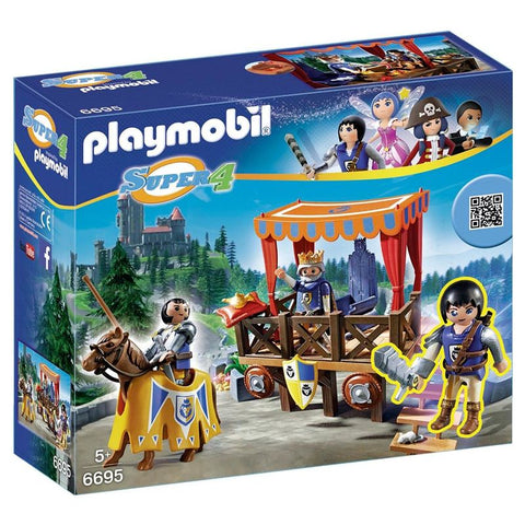 Playmobil Super 4  Royal Tribune med Alex 6695
