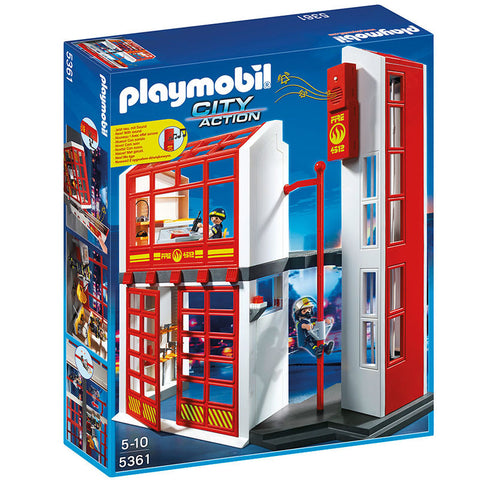 Playmobil City Action 5361 Brandstation med alarm