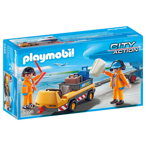 Playmobil City Action 5396 Flyveledere med bagagetransport