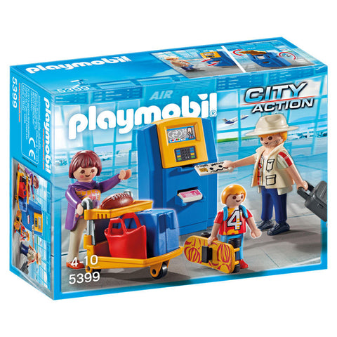 Playmobil City Action 5399 Familie ved Check-In