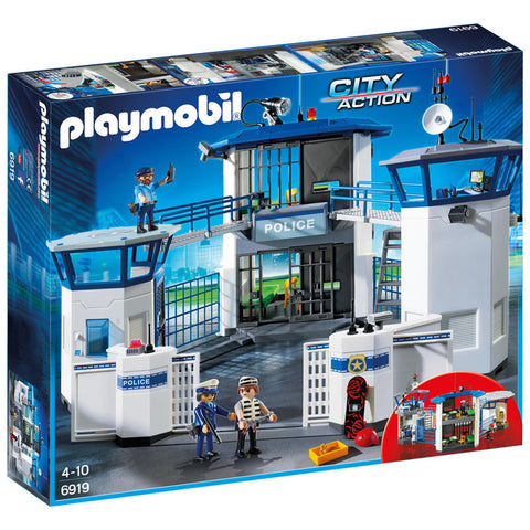 Playmobil City Action 6919 Politistation med fængsel