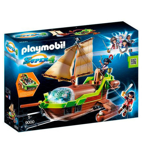 Playmobil Super 4 Pirat-kamæleon Med Ruby 9000