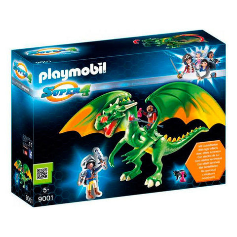 Playmobil Super 4 Ridderlandsdrage Med Alex 9001